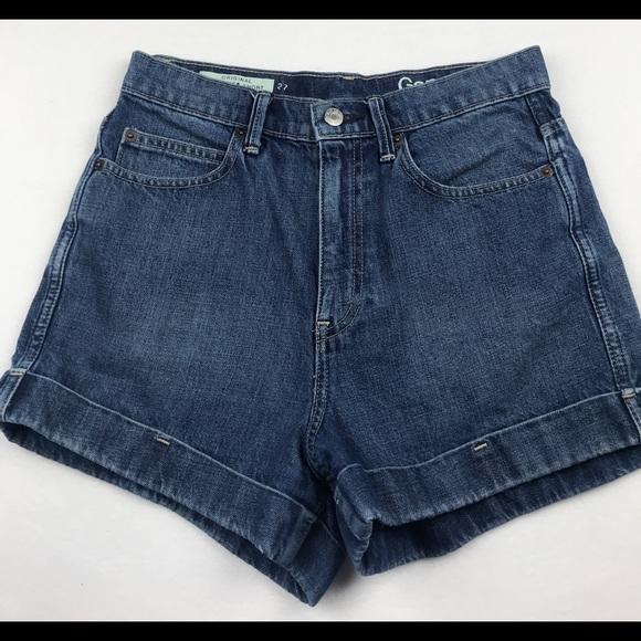 6f3248eb31d2 GAP Shorts   1969 Original High Rise Denim Jean 27   Poshmark